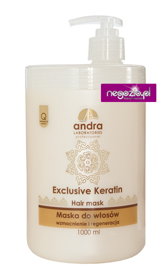 ANDRA Exclusive Keratin Mask keratynowa maska 1000 ml