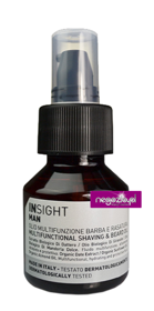 INSIGHT MAN Multifunctional Shaving & Beard Oil multifunkcyjny olejek do brody 50 ml